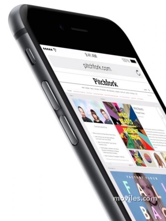 Safari en el Apple iPhone 6
