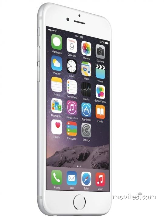 iPhone 6 Plata (color blanco)
