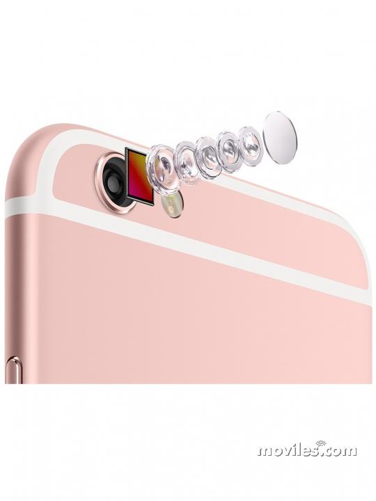 Lentes de la cámara del iPhone 6s Rosa