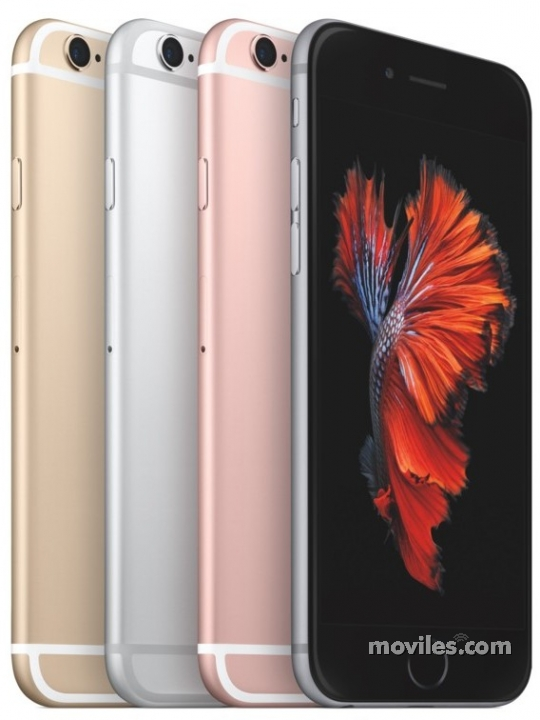 iPhone 6s en sus 4 colores disponibles