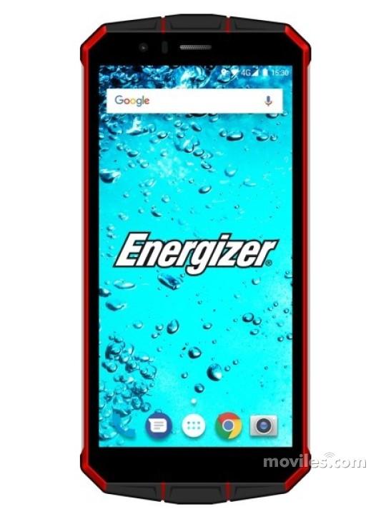 Fotografía grande Varias vistas del Energizer Hardcase H501S Negro. En la pantalla se muestra Varias vistas