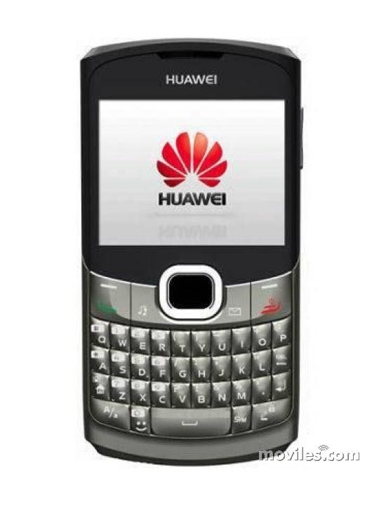grande Frontal del Huawei G6150 Plata. En la pantalla se