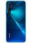 Fotografía Varias vistas del Huawei nova 5T Azul y Negro y Púrpura. En la pantalla se muestra Varias vistas
