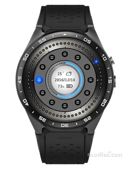 leotec adventure swim  Comparar Kingwear KW88 3G y Leotec Smartwatch Adventure Swim ...