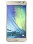 Fotografía Frontal del Samsung Galaxy A7 Dorado. En la pantalla se muestra Pantalla de inicio