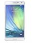 Fotografía Frontal del Samsung Galaxy A7 Blanco. En la pantalla se muestra Pantalla de inicio