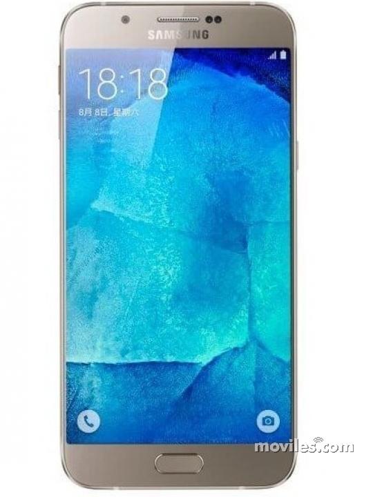 Galaxy A8 plata