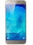 Fotografía Varias vistas del Samsung Galaxy A8 Blanco y Dorado y Negro. En la pantalla se muestra Varias vistas