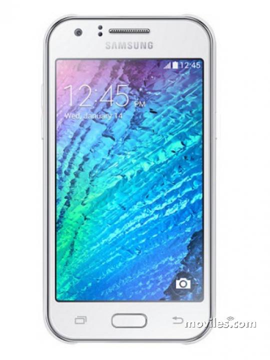 Diseño del Galaxy J7 blanco
