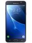 Fotografía Varias vistas del Samsung Galaxy J7 Blanco y Dorado y Negro. En la pantalla se muestra Varias vistas