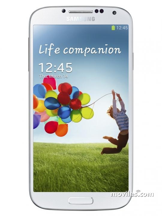 Pantalla Samsung Galaxy S4 plateado