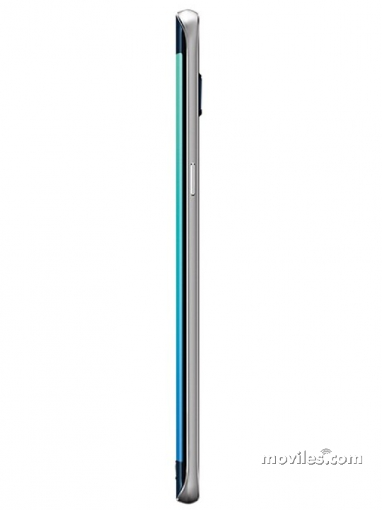 Grosor del Galaxy S6 Edge+ negro