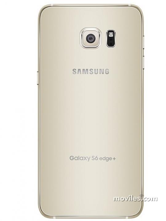 Cámara trasera del Galaxy S6 edge+ dorado