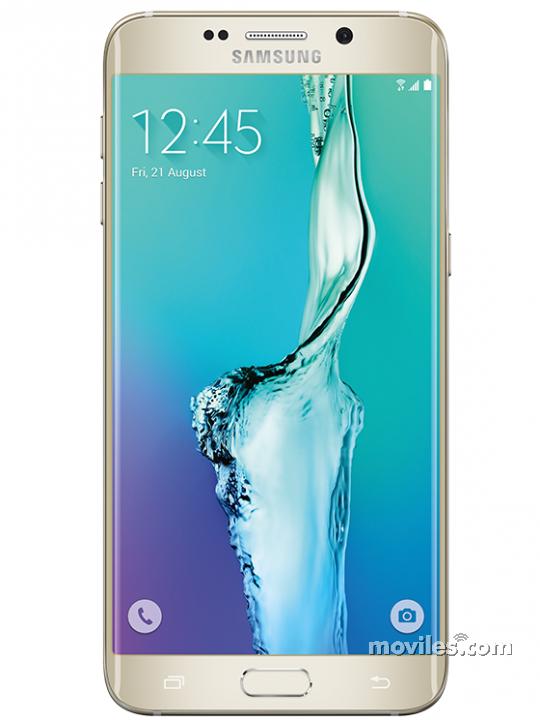 Frontal del Galaxy S6 Edge+ Dorado