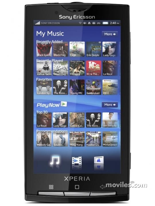 Fotografías Sony Ericsson Xperia X10 - Moviles.com