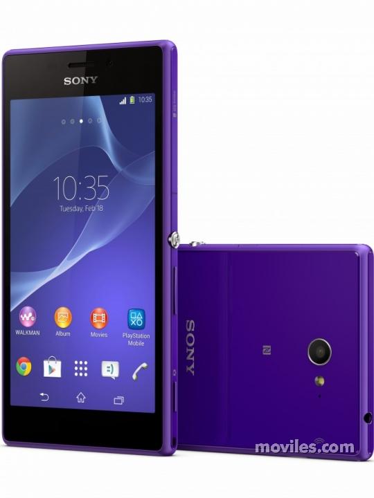 Sony Xperia M2 Morado